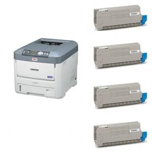 沖データ(OKI)TNR-C4GK2/C2/M2/Y2大容量リサイクルトナー