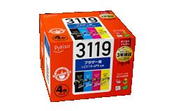 プレジール互換インクカートリッジ ブラザー対応 LC3119-4PK顔料4色パック